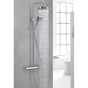 Душевая система с термостатом Kludi Dual Shower System 6609505-00, фото 2