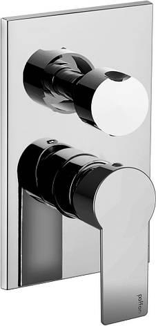 Смеситель встраиваемый для душа и ванны Paffoni Tango TA 019 CR/M, фото 2