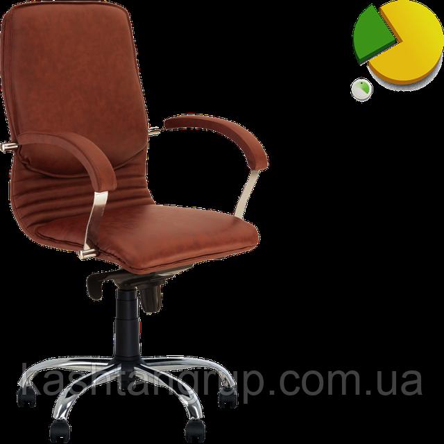 Кресло NOVA steel LB MPD CHR68 Шкіра LUX