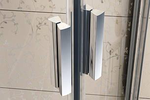 Душова кабіна Blix BLRV2-90 полір. алюм.+transparent 1LV70C00Z1, фото 2