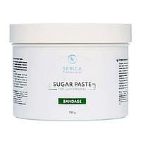 Бандажная сахарная паста для эпиляции 750 г Serica
