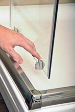 Душевая дверь RAVAK BLIX BLDP2-110 R-L белый+grape (0PVD0100ZG), фото 2