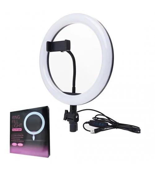 Кольцевая светодиодная лампа 26 см 10Вт  Ring Fill Light ZD666