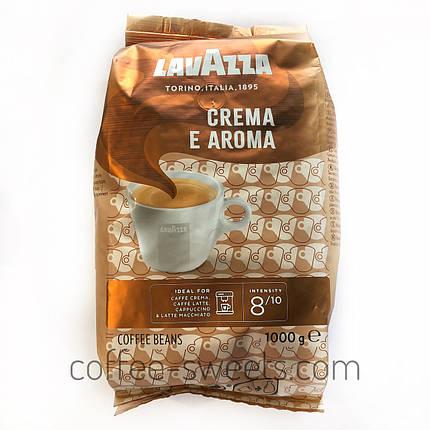 Зерновий кави Lavazza Crema e Aroma 1 кг, фото 2