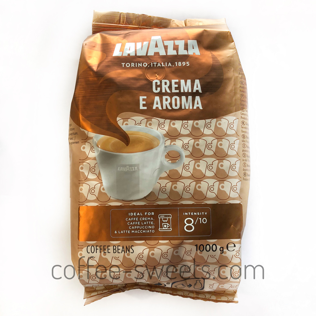 Зерновий кави Lavazza Crema e Aroma 1 кг