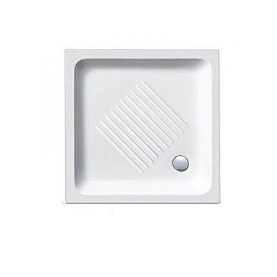 Квадратный керамический душевой поддон 80х80 Catalano Base 1808000