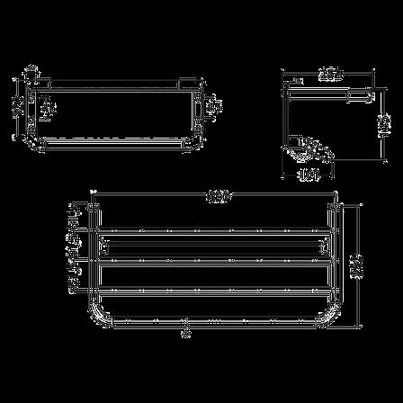 Kludi A-Xes держатель для полотенца с полочкой 600 мм 4898905, фото 2