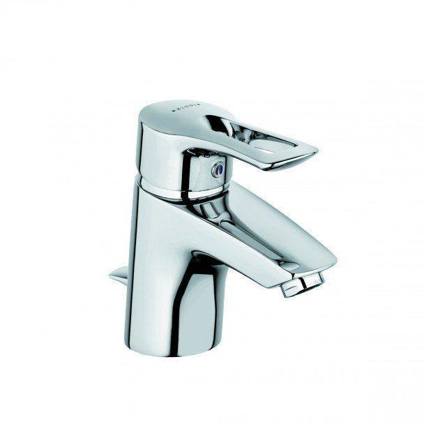 Смеситель для раковины однорычажный с донным клапаном Kludi MX хром 331280562