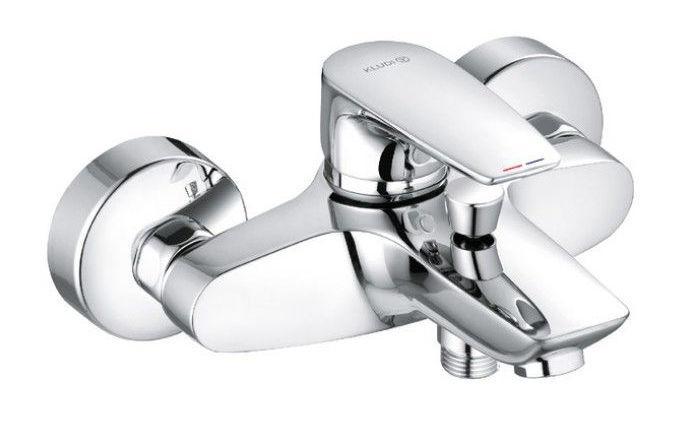Смеситель для ванны Kludi Pure&Solid однорычажный хром 346810575