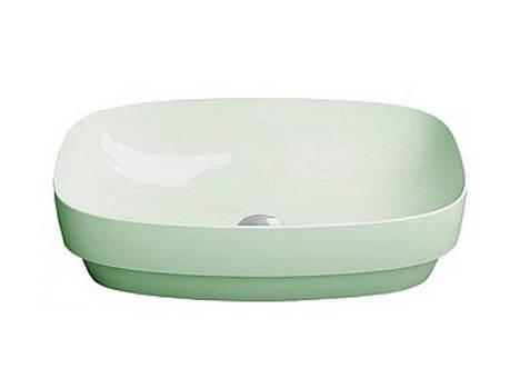 Раковина настольная или полувстраиваемая Catalano Green LUX 50х38 (Зеленый матовый) 150AGRLXVS, фото 2