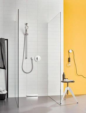 Смеситель встраиваемый для ванны и душа Kludi Pure&Easy с защитой от обратного потока однорычажный хром, фото 2