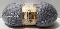 Нитки пряжа для вязания ANGORA GOLD Ангора Голд от ALIZE Ализе № 402 - зимнее небо