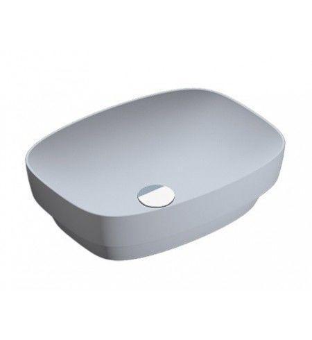Раковина для ванной накладная Catalano Colori 50х38 серый 150AGRLXCS