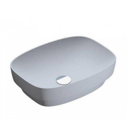 Раковина для ванной накладная Catalano Colori 50х38 серый 150AGRLXCS, фото 2