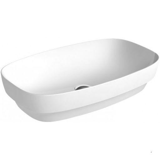 Раковина для ванной накладная Catalano Colori 65х40 (Белый матовый) 165AGRLXBM