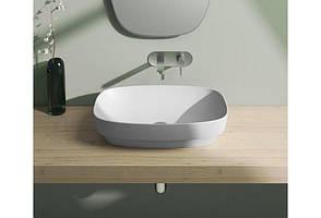Раковина для ванной накладная Catalano Colori 65х40 (Белый матовый) 165AGRLXBM, фото 2