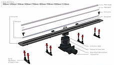 Душевой канал Pestan Slim Line 650 мм с декоративной вставкой из нержавеющей стали 13100033, фото 3