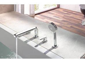 Смеситель для ванны и душа Kludi TERCIO на 4 отверстия хром 384230575, фото 2