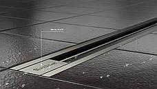 Душевой канал Pestan Slim Line 1150 мм с декоративной вставкой из нержавеющей стали 13100038, фото 3