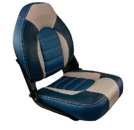 SF Кресло капитанское в лодку SET SKIPPER PREMIUM сине/голубое 1061069-B, фото 2
