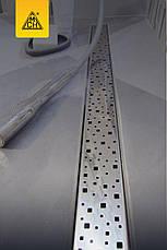 Душевой канал MCH CH-650S с решеткой Квадраты, фото 2