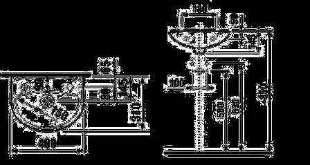 Раковина JIKA Lyra 40 см с отверстием справа H8153810001061, фото 2