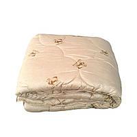 Одеяло шерсть овечья натуральная евро размер 200/220 см, ткань хлопок