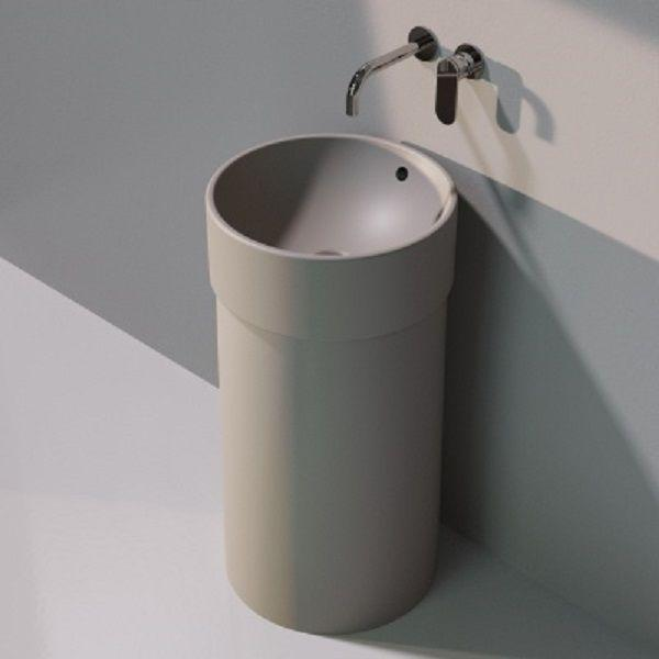 Напольная раковина Flaminia Twin Column argilla 5050/COLP+5050/42C