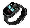 Детские смарт-часы Lemfo DF50 Ellipse Aqua с GPS трекером (Черный), фото 3