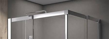 Душова кабіна Matrix MSRV4-90/90 полір. алюм.+Transpare, фото 2