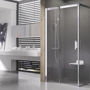 Душова кабіна Matrix MSRV4-100/100 сатин+Transparent