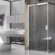 Душова кабіна Matrix MSRV4-100/100 сатин+Transparent, фото 2