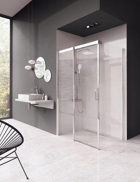 Душова кабіна Matrix MSDPS-100/80 L білий+Transparent