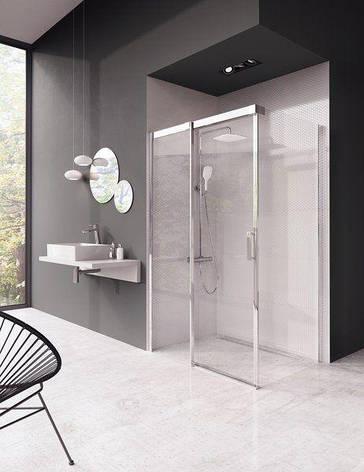 Душова кабіна Matrix MSDPS-100/80 L білий+Transparent, фото 2