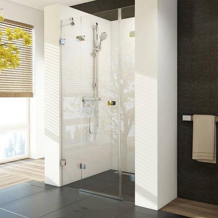 Душові двері Brilliant BSD3-120 L хром+transparent (0ULG0A00Z1), фото 2