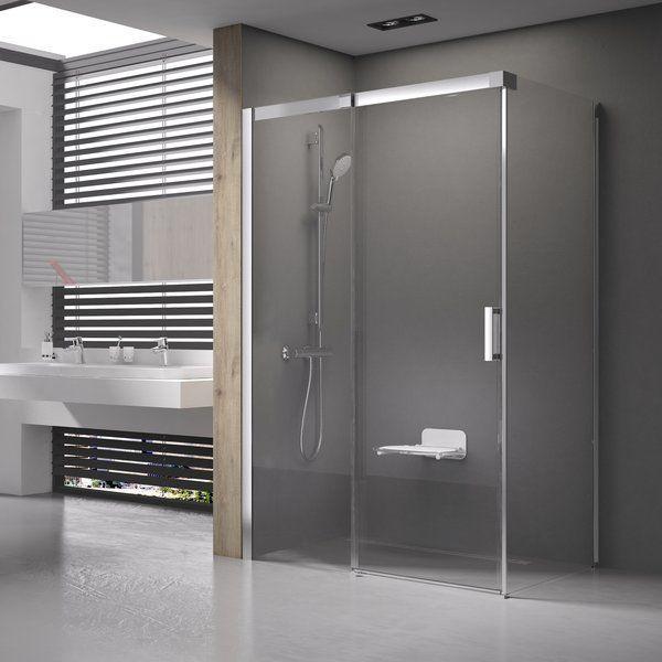 Душові двері Matrix MSDPS-100/80 R білий+Transparent