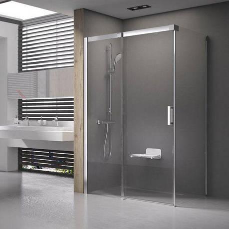 Душові двері Matrix MSDPS-100/80 R білий+Transparent, фото 2