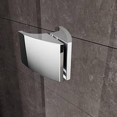 Душоввые двери Ravak Pivot PDOP1-90 білий+transparent 03G70100Z1, фото 3