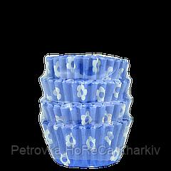 Кондитерские формы из бумаги для маффинов и капкейков. 40*30*20 мм (уп 100 шт)