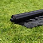 Пленка строительная полиэтиленовая черная 90 мкм 6*50м ГОСТ, фото 3