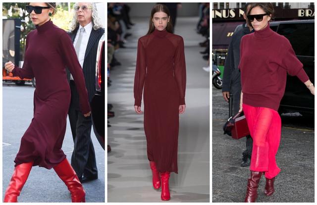 бордовые кожаные куртки с красным