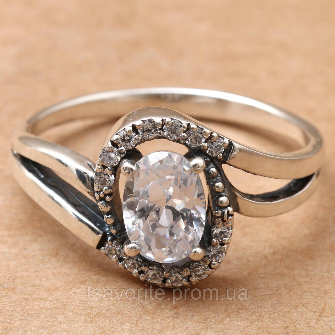 Серебряное кольцо 357КЮ