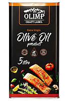 Оливковое масло EXTRA VIRGIN OLIVE OIL Olimp Craft 5 л.