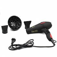 Профессиональный фен для волос Domotec MS-0219 3000W Black 111635, КОД: 1752549