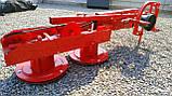 Косарка для мінітрактора роторна Lisicki 1,1 м з захистом, фото 3