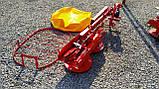Косарка для мінітрактора роторна Lisicki 1,1 м з захистом, фото 10