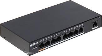PoE Комутатор 8-портовий Dahua PFS3009-8ET-96