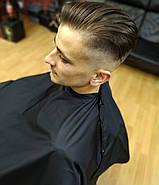 Пеньюар парикмахерский VSETEX | Накидка для клиента салона красоты, фото 3
