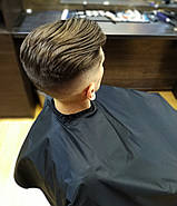 Пеньюар перукарський VSETEX   Накидка для клієнта салону краси, фото 4