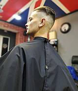 Пеньюар парикмахерский VSETEX | Накидка для клиента салона красоты, фото 5